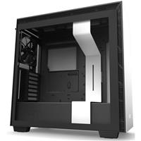 Image of NZXT H710 Mid-Tower Case with Tempered Glass, Matte White