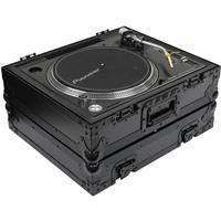 Odyssey Innovative Designs Black Label FZ1200BL Single Turntable Flight Case for Technics 1200 Style Turntables