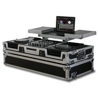 "Odyssey Innovative Designs FZGSX12CDJW DJ Coffin Case for 2 Large Format CD Players and 12"" Mixer"