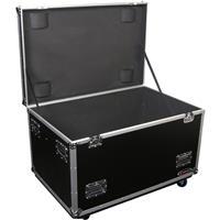 "Image of Odyssey Innovative Designs FZUT2W-EMPTY Heavy Duty Utility DJ Case with 3.5"" Heavy Duty Casters"