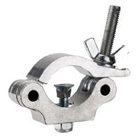 Image of Odyssey Innovative Designs Aluminum Pro Narrow Clamp with Square Neck Countersunk Bolt and Hexagonal Non-Slip Nut, 661 lbs Capacity, Aluminum Finish