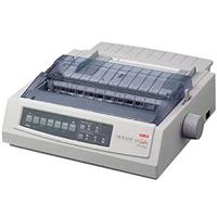 OKI Data OKI Data Microline 321T, 9-Pin Turbo Dot Matrix Impact Wide-Carriage Printer, for All Invoice Printing Needs.
