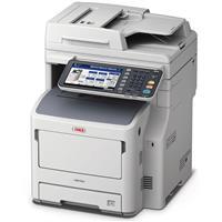 OKI Data MB760+ All-in-One Monochrome LED Multifunction Laser Printer, 49 ppm, 1200x1200 dpi, 630 Sheet Standard Capacity - Print, Copy, Scan, Fax