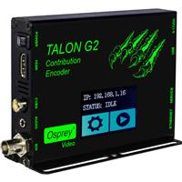 Osprey Video Talon G2 3-Channel H.264 Portable Hardware Based Encoder, SDI HDMI Composite & Audio Input with LCD Touch Display