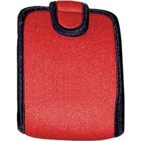 Op/Tech Snappeez, Soft Belt Style Pouch for Film & Digital Cameras, Cell Phones, Radios, MP3 Players, Medium, Red