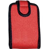 Op/Tech Snappeez, Soft Belt Style Pouch for Film & Digital Cameras, Cell Phones, Radios, MP3 Players, Small, Red
