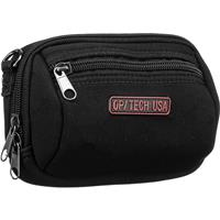 Image of Op/Tech Zippeez, Soft Belt Style Pouch for Small Digital Point-n-Shoot Cameras, Large, Black