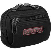 Image of Op/Tech Zippeez, Soft Belt Style Pouch for Small Digital Point-n-Shoot Cameras, Small, Black.
