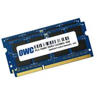 OWC / Other World Computing 8GB (2x 4GB) 1333MHz 204-Pin DDR3 SO-DIMM (PC3-10600) Memory Upgrade Kit for iMac, Mac mini, MacBook Pro and PC Laptops, CL=9, Unregistered, Dual Rank, Non-ECC, 1.5V
