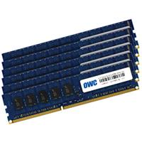 OWC / Other World Computing 48GB (6x 8GB) Matched Pair 1333MHz 240-Pin SDRAM DIMM DDR3 (PC10600) Memory Upgrade Kit for PC Desktops, Mac Pro 'Nehalem' & 'Westmere'