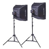 Interfit Photographic Super Cool-lite Continuous Fluorescent 2 Head Lighting Kit Product image - 258