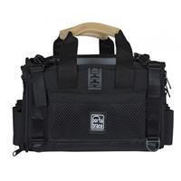 Image of Porta Brace Lightweight & Silent Pro Audio Organizer Case for Field Recorders, Black