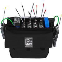 Porta Brace RM-MULTI/E Extreme Wireless Mic Case for 4x Radio Mic Receivers, Black