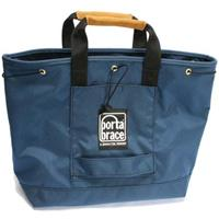 Image of Porta Brace Small Sack Pack, Carry-all Duffel Style Bag, Blue with Black Trim, Blue