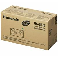 Panasonic Black Toner Cartridge for UF-8200 and UF-7200 Laser Fax Machines, Estimated yield 10,000 Pages.