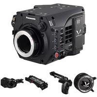 Image of Panasonic Compact 4K Super 35 VariCam LT Cinema Camera, EF Mount - Bundle with OLED Viewfinder, Shoulder Mount, Grip Module, PL Adapter