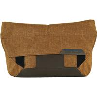 Peak Design The Field Pouch for Cords, Accessories, Batteries, Hard Drives and Even Mirrorless Cameras and Lenses, Heritage Tan