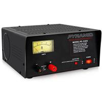 Image of Pyramid PS21KX 20 Amp 13.8V AC to DC Converter Power Supply with Amperage Gauge Display and Built-in Cooling Fan