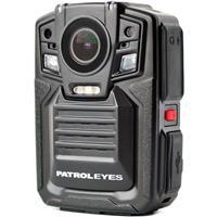 Image of Patrol Eyes PE-DV5-2 1296p Body Camera with Night Vision and GPS, 32GB Storage