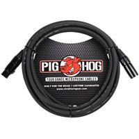 Image of Pig Hog 10' 8mm XLR Microphone Cable - 3 Pin XLR Male to 3 Pin XLR Female
