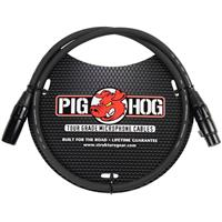 Image of Pig Hog 3' 8mm XLR Microphone Cable - 3 Pin XLR Male to 3 Pin XLR Female