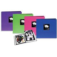 "Pioneer Memory Book, 12x12"" E-Z Load Scrapbook with 10 Archival Pages & Inserts (Random Color Will Be Shipped)"
