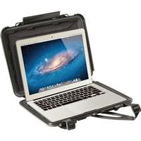 "Pelican 1070CC HardBack Case with Liner, Fits 13"" Ultrabook Laptops, Black"
