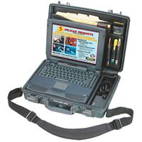 """Pelican Large 15"""" Notebook Computer Deluxe Watertight Hard Case with Lid Organizer, Fitted Shoc Product image - 282"""