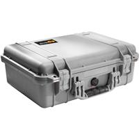 Pelican 1500 Watertight Hard Case with Foam Insert - Silver Product image - 1121
