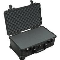 Pelican 1510 Carry On Watertight Hard Case with Foam Insert & Wheels - Charcoal Black Product image - 703