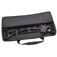 """Image of ProMediaGear VS368 PMG-Duo Interview Video Slider with Straight/Curved Tracks and Carrying Case, 36"""" Slider Track Length"""