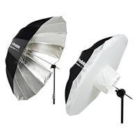 """Image of Profoto Deep Silver Umbrella, XL, 65"""" (165cm) - With Profoto Umbrella Diffuser, XL, 1.5 Stops"""