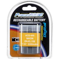 Image of Power2000 EN-EL15B Replacement Lithium-Ion Rechargeable Battery for Nikon Digital Camera