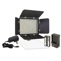 Image of VidPro LED-330X Variable-Color On-Camera LED Video Light Kit