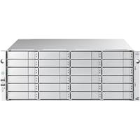 Promise Technology VTrak D5800FXD 4U 24-Bay FC/iSCSI/NAS Unified Storage System with 240TB (24x 10TB 7200rpm 12G SAS) HDD, RAID Dual HA Controllers with 4-Port 10GSFP+ and 8-Port 16Gb FC