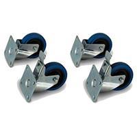 Image of PreSonus Caster Wheel Kit for ULT 18 Subwoofer, Includes 2x Standard Caster Wheels and 2x Locking Caster Wheels