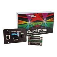 Image of ProX Pangolin QuickShow Software with FlashBack 4 ILDA Interface Box