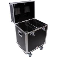 Image of ProX XS-MH140X2W ATA-300 Style Gig Ready Flight Road Case for Two 140 Style Moving Head Lighting Fixtures