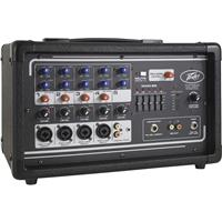"""Image of Peavey PV 5300 4-Input Channel 200 Watt Powered Mixer Amplifier, 1/4"""" / XLR, 50Hz to 20kHz Mic to Amp, 120V AC Power"""