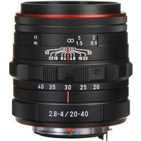 Pentax HD DA 20-40mm F2.8-4 ED Limited DC WR Zoom Lens - Black