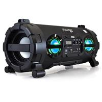 "Pyle PBMSPG130BK 100W Portable Wireless Bluetooth + NFC Boombox Stereo System with 2x 5.25"" Subwoofers & 2x 2.5"" Speakers"