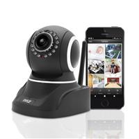 Image of Pyle PIPCAM8 1MP 720p HD Indoor Wireless P2P IP Network Camera with 4.2mm Lens, 30 fps, 33' Night Vision, H.264, MJPEG