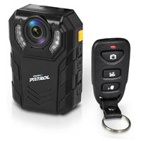 Image of Pyle PPBCM22 Ultra HD Body Camera with 64GB Built-In Memory, 2304x1296 at 30fps, 10m IR Range, IP-67 & IP-68