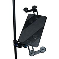 Image of Quik Lok IPS-12 Microphone and Music Stand-Mount Universal Tablet Holder