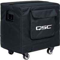 Image of QSC Soft Padded Heavy Duty Weather-Resistant Nylon/Cordura Cover for KS112 Loudspeaker