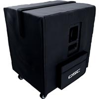 Image of QSC Soft Padded Heavy Duty Weather-Resistant Nylon/Cordura Cover for KS118 Active Subwoofer