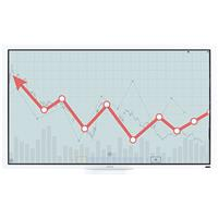"""Image of Ricoh D7500 75"""" 4K LED Interactive Flat Panel Display Whiteboard"""