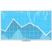 """Image of Ricoh D8400 84"""" 4K LED Interactive Flat Panel Display Whiteboard"""