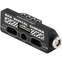 RED Digital Cinema DSMC2 Lemo Adaptor B for WEAPON 8K S35, WEAPON 6K, EPIC-W, SCARLET-W, RAVEN, EPIC/SCARLET DRAGON, EPIC/SCARLET M-X Cameras, 16-Pin 1B LEMO Socket