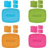 Image of Rode Microphones COLORS Colored Caps and Cable Clips for NT-USB Mini Microphone, 4-Pack